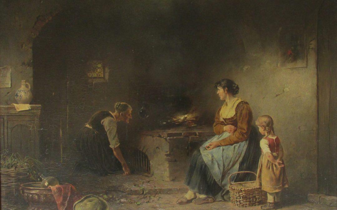 Süßer Brei und Pfannkuchen mit Prütt